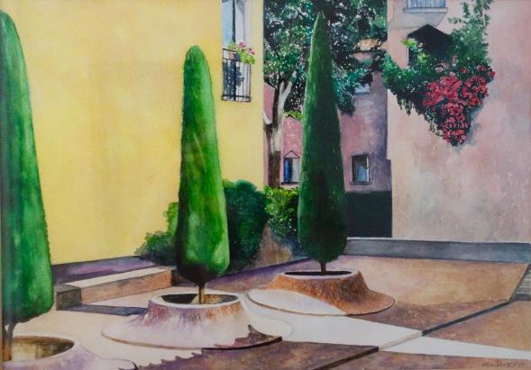 Avignon - Watercolour