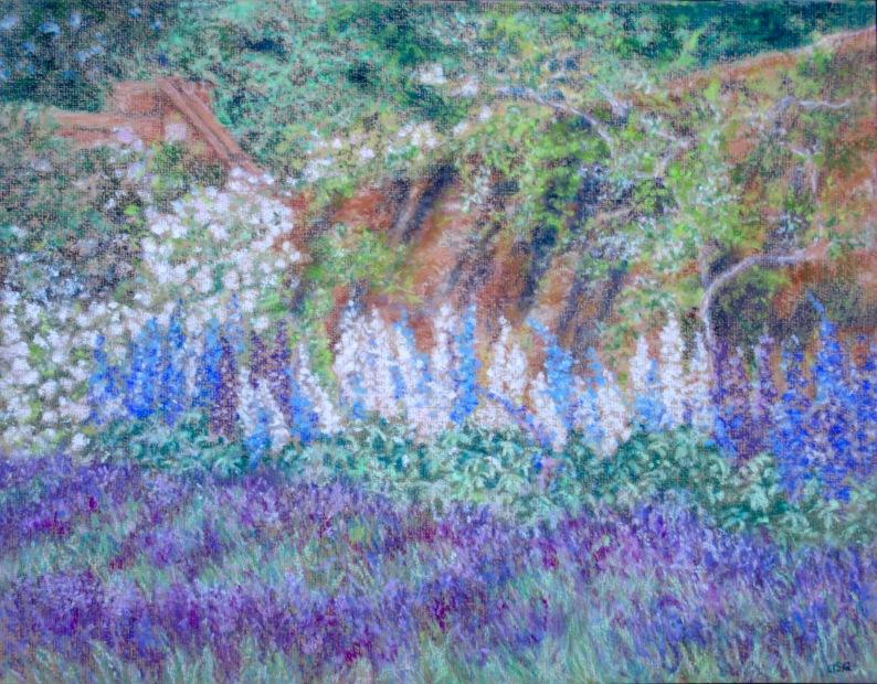Polesden Lacey, Bookham, Surrey - Pastels