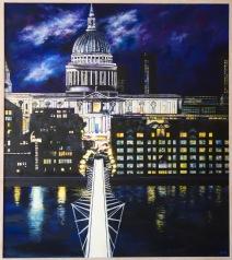 St Paul's, London - Oils