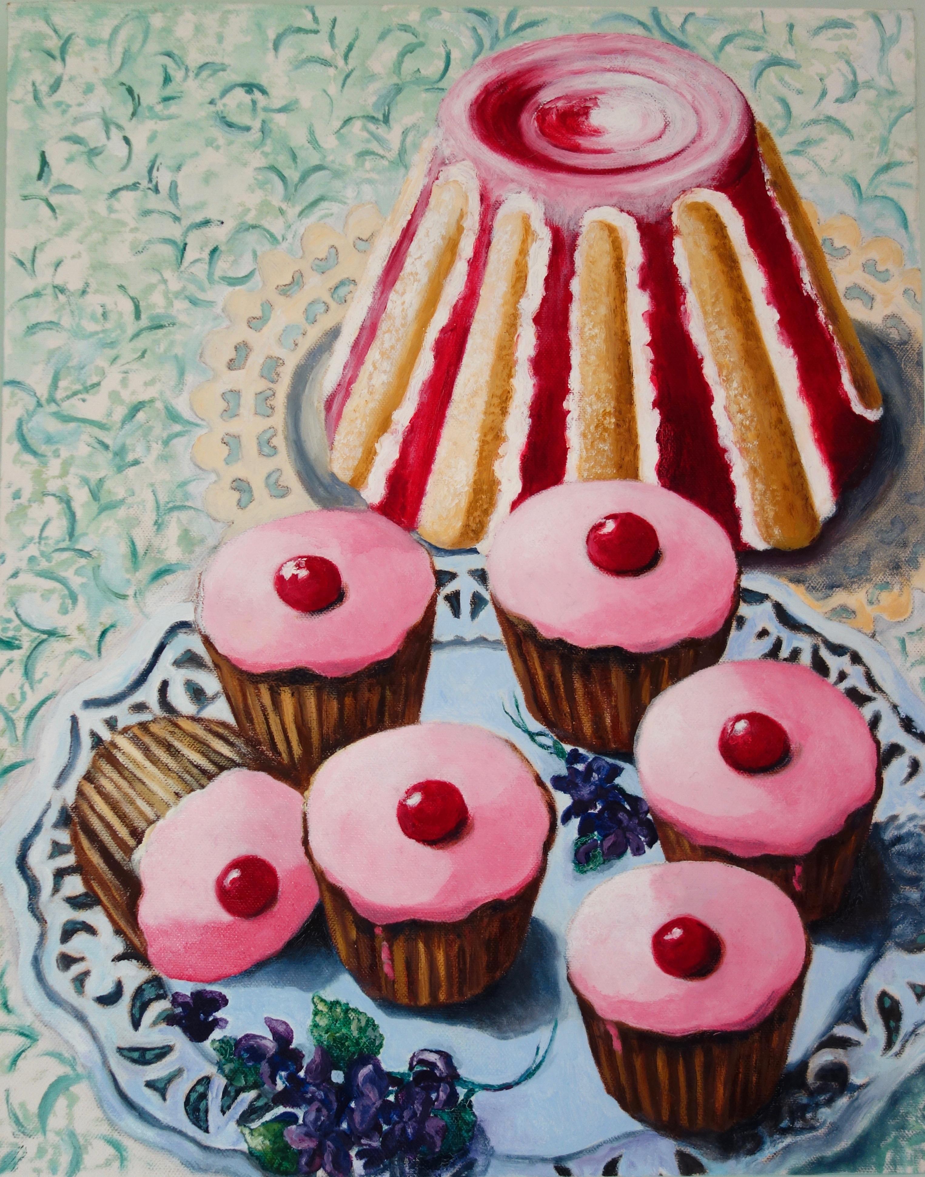 Teatime: Oil paint